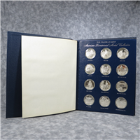 The American Bicentennial Medals Collection  (Franklin Mint, 1976)