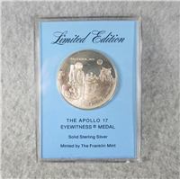 The Apollo 17 Eyewitness Medal (Franklin Mint, 1973)