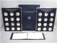 Franklin Mint  The Official Bicentennial History of the United States Army Commemorative Medals Set