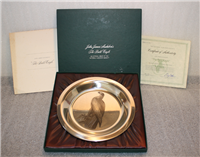 National Audubon Society's John James Audubon 'Bald Eagle' Limited Edition Plate   (Franklin Mint, 1974)