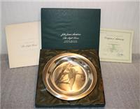 National Audubon Society's John James Audubon 'The Night Heron' Limited Edition Plate   (Franklin Mint, 1974)