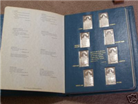 Franklin Mint  Biblical Wildlife Society Treasury of Biblical Wildlife Ingots Collection (Sterling)