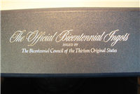 The Official Bicentennial Council of the 13 Original States Ingots and First Day Postal Cachets Collection  (Franklin Mint, 1976, 70 total)