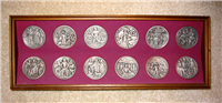 The Calling of the Apostles (LA CHIAMATA DEGLI APOSTOLI) Medals Collection   (Franklin Mint, 1972)