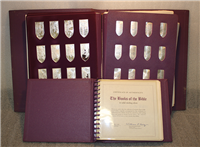 Franklin Mint  Catholic Books of the Bible Ingots