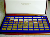 The Official Classic Cars Ingots Collection    (Franklin Mint, 1973)