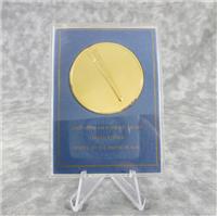 Comet Kohoutek Eyewitness 24K GEP Silver Medal (Franklin Mint , 1973)