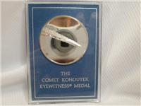The Comet Kohoutek Eyewitness Silver Medal (Franklin Mint, 1974)
