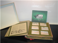 The Currier & and Ives Silver Ingots Collection  (Franklin Mint, 1974)