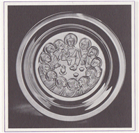 The Last Supper by Oriol Sunyer Limited Edition Easter Plate  (Franklin Mint, 1975)