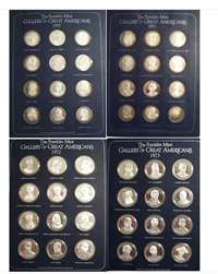 The Gallery of Great Americans Medals Collection  (Franklin Mint)