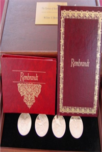 The Genius of Rembrandt Medals Collection    (Franklin Mint, 1972)