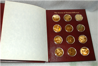 Franklin Mint  The Genius of Thomas Jefferson Medals Collection
