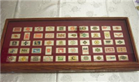 The Official Emblems of the Great American Railroads Ingot Collection  (Franklin Mint, 1979)