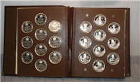 The Great Explorers of Canada Medals Collection     (Franklin Mint)