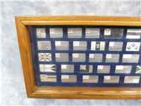 The Great Flags of America Mini Ingots Collection   (Franklin Mint)