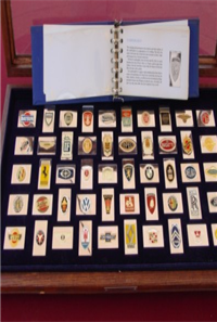 The World's Greatest Automobile Emblems in Automobile History Ingot Collection    (Franklin Mint, 1977)