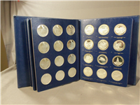 California Commemorative Medals Collection  (Franklin Mint, 1972)