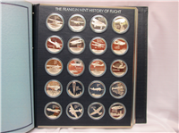 The History of Flight Medals Collection  (Franklin Mint, 1977)