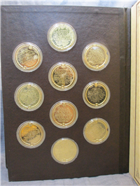 The History of Mankind Medals Collection   (Franklin Mint, 1974)