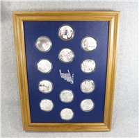 The Great Moments in the History of the American Flag Medals Collection (Franklin Mint, 1977)