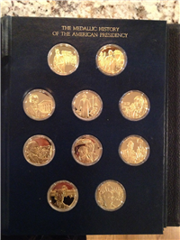 The Medallic History of the American Presidency Medals Collection  (Franklin Mint, 1977)