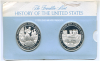 The History of the United States USA Medals Collection  (Franklin Mint, 1976)