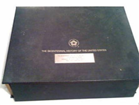 The Bicentennial History of the United States USA Ingots  (Franklin Mint, 1975)