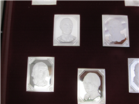 The Independence Hall Portrait Ingots Collection    (Franklin Mint, 1975)