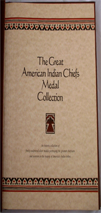The Great American Indian Chiefs Medals Collection  (Franklin Mint, 1977)