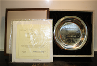 'Brandywine Battlefield' by James Wyeth Limited Edition Collector Plate   (Franklin Mint, 1976)