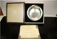 'Riding to the Hunt' Limited Edition Collector Plate by James Wyeth   (Franklin Mint, 1974)