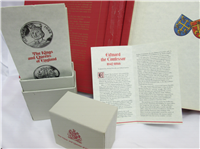 The Kings and Queens of England Medals Collection  (Franklin Mint, 1970)