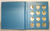 The Great Moments in the Life of George Washington Medals Collection   (Franklin Mint, 1975)