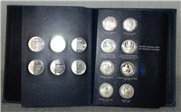 The Medical Heritage Society Medallic History of Medicine Medals Collection  (Franklin Mint)