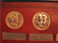 The National Commemorative Society Medals Collection  (Franklin Mint)