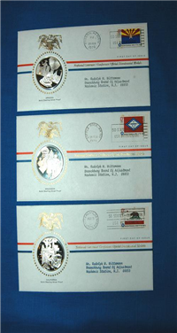 The Official Bicentennial Medals and First Day Covers of the National Governors' Conference  (Franklin Mint, 1976)