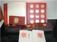 Opera's Most Beautiful Moments Medals Collection    (Franklin Mint, 1978)