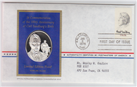 The Postmasters of America Medallic First Day Covers  (Franklin Mint)