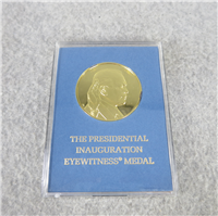 President Gerald Ford Inaugural Eyewitness Silver Medal (Franklin Mint, 1974)