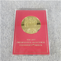 President Jimmy Carter Inaugural Eyewitness Silver Medal (Franklin Mint, 1977)