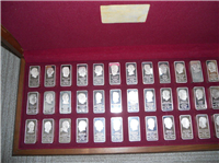 The Franklin Mint Presidential Ingots Collection, 5000 Grains Edition   (Franklin Mint, 1973)