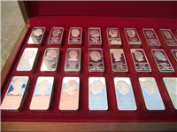 The Presidential Ingots Collection, 5000 Grains Edition   (Franklin Mint, 1973)