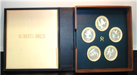 Roberts Birds Medals   (Franklin Mint, 1970-1976)