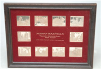 Norman Rockwell's Favorite Moments from Mark Twain Ingot Collection  (Franklin Mint, 1975)