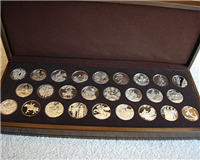 The Sculptors' Studio Medals Collection  (Franklin Mint, 1973)