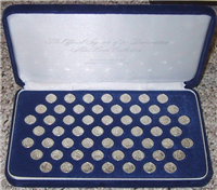 The Signers of the Declaration of Independence Mini-Coin Collection  (Franklin Mint, 1976)