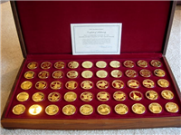 The Governors Edition States of the Union Medals Collection (Franklin Mint, 1970)
