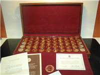 The Official Mayors Medals of the United States Conference of Mayors Medals Collection   (Franklin Mint, 1971)