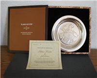 'Plains Hunter' by John Weaver Limited Edition Western Artists Plate   (Franklin Mint, 1973)